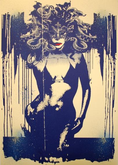 Medusa (blue print) Jim Starr