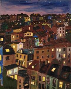 Montpelier Night Andrew Watkins