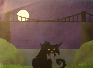 Brizzle Cat by Angus Art