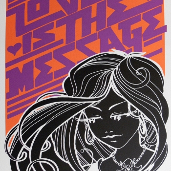 Love is the Message Inkie