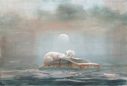 Polar Bears by Andrew Burns Colwill