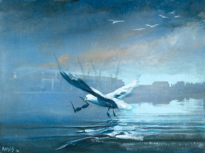 Seagulls Stole My Shades #1 by Andrew Burns Colwill