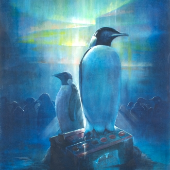 Penguins by Andrew Burns Colwill