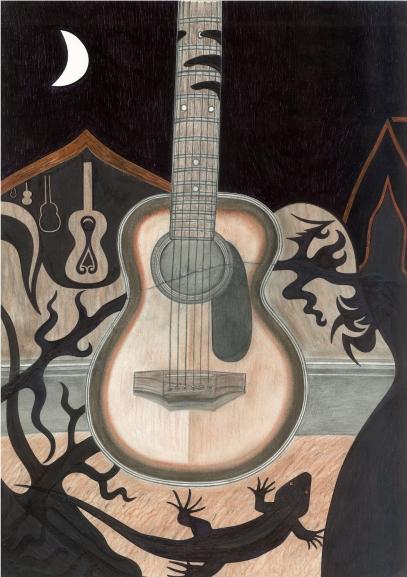 Guitar by Mark o'Neill